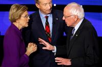 【米大統領選】民主の左派候補が「内ゲバ」 ウォーレン氏VSサンダース氏 「女性はなれな…