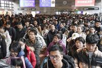 中国の人口14億人を突破 少子高齢化で労働人口は8年連続減
