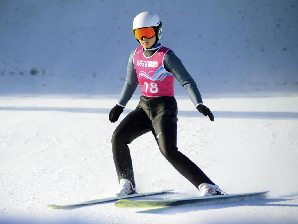 スキー複合で宮崎「銀」 冬季ユース五輪第10日