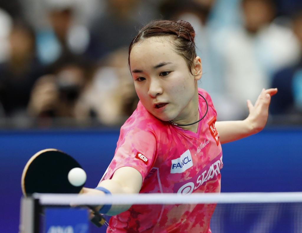 伊藤、3冠ならず「実力負け」 早田の強打に圧倒され涙 卓球全…