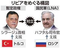 リビア停戦目指し会議 米欧、露など首脳・高官一堂に