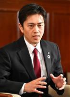 吉村大阪府知事、都構想可決なら「移行に責任」 次期府知事選再選出馬も示唆