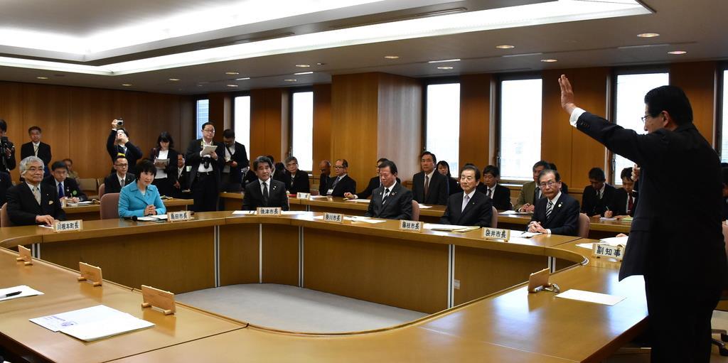 静岡県が意見集約し国交省へ回答 知事、流域10首長と確認 リ…