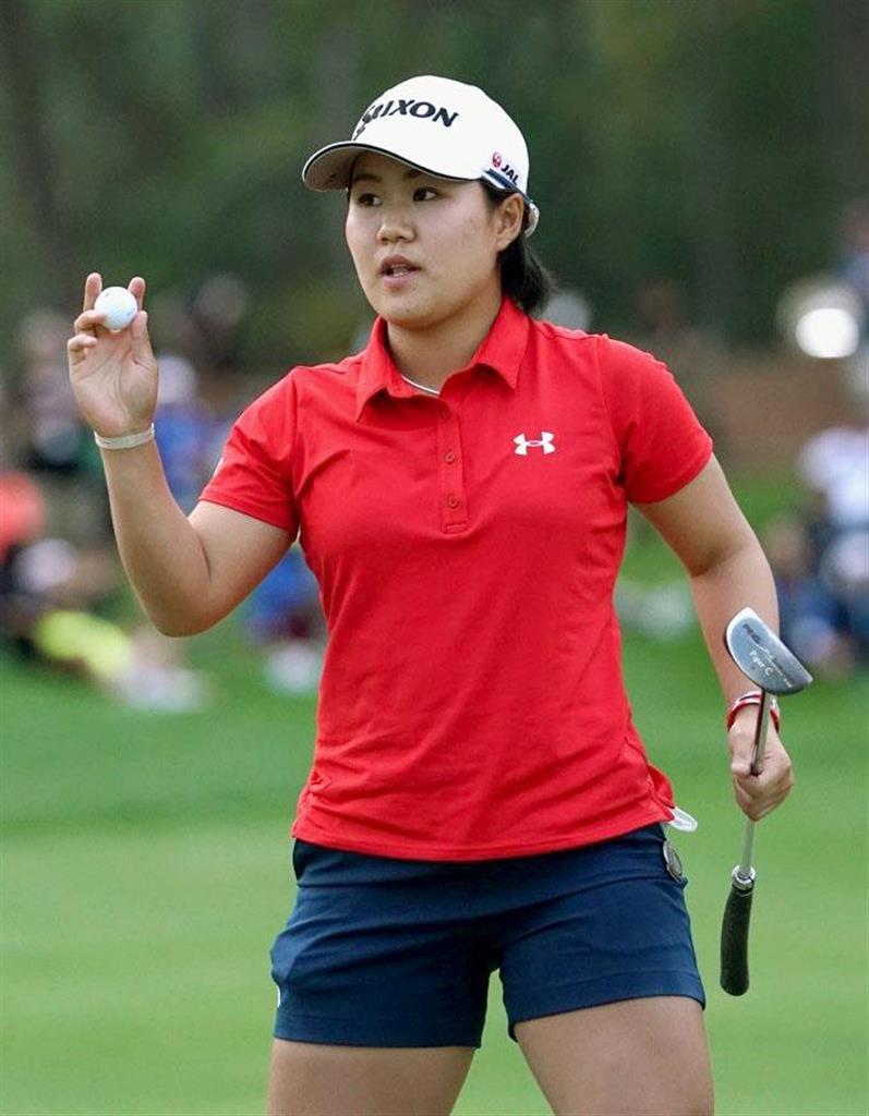 畑岡奈紗、プレーオフは決着せず 米女子ゴルフ開幕戦は順延