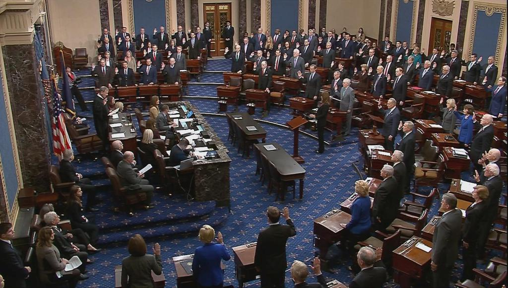 上院の弾劾裁判日程、民主党のアイオワ党員集会の行方左右も