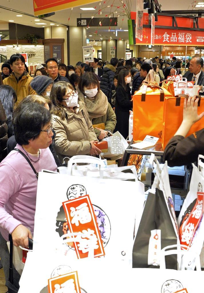 昨年の百貨店売上高は4年連続6兆円割れ 天候不順や消費税増税…