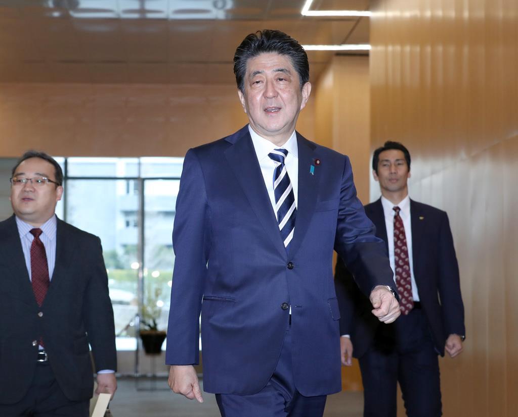 安倍晋三首相「正々堂々と政策論争を」 きょう22日から各党代…