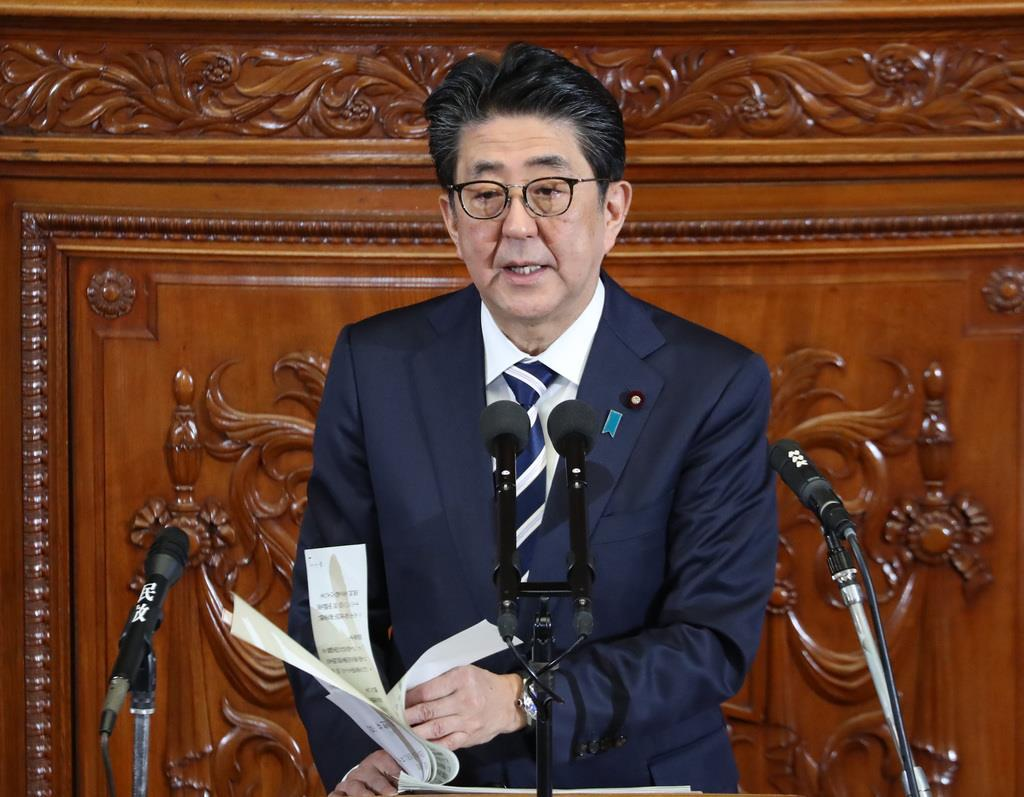 【衆院代表質問】首相、IR事業「丁寧に推進」 改憲へ審査会の…