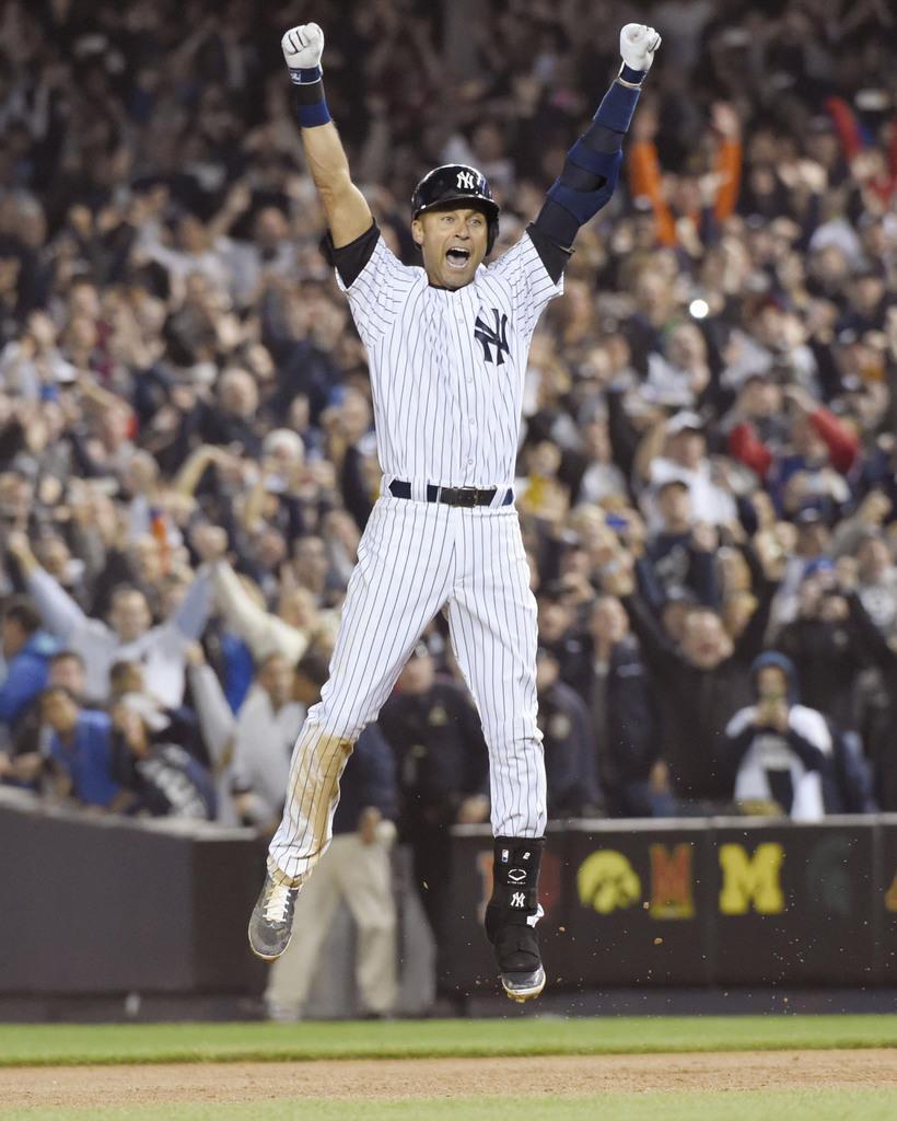 殿堂入り「最高の栄誉」 ヤンキース支えたジーター氏