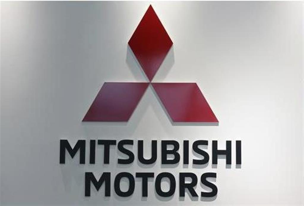 三菱自動車のロゴ(AP)