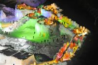 光織りなす幻想世界 層雲峡温泉氷瀑まつり