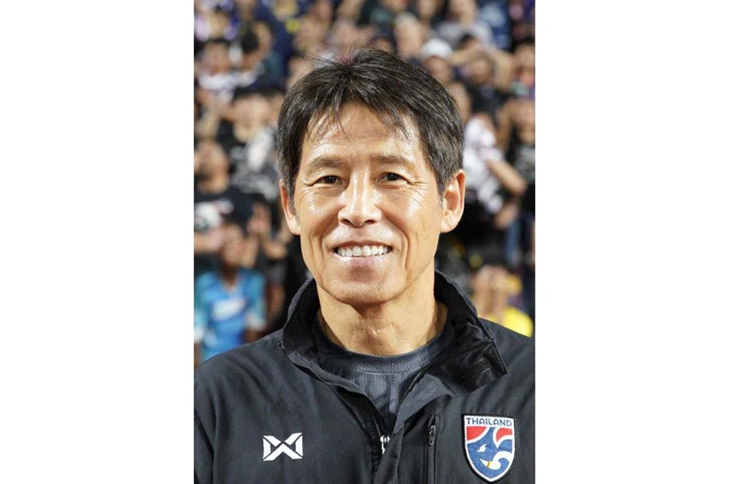 西野監督が2年契約延長 サッカーのタイ代表
