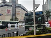 【動画あり】京都・四条河原町で市営バスが街路灯に衝突、3人搬送