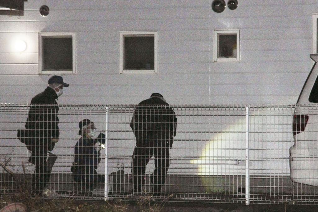 駐車場で発砲か、男性1人死亡 群馬県桐生市