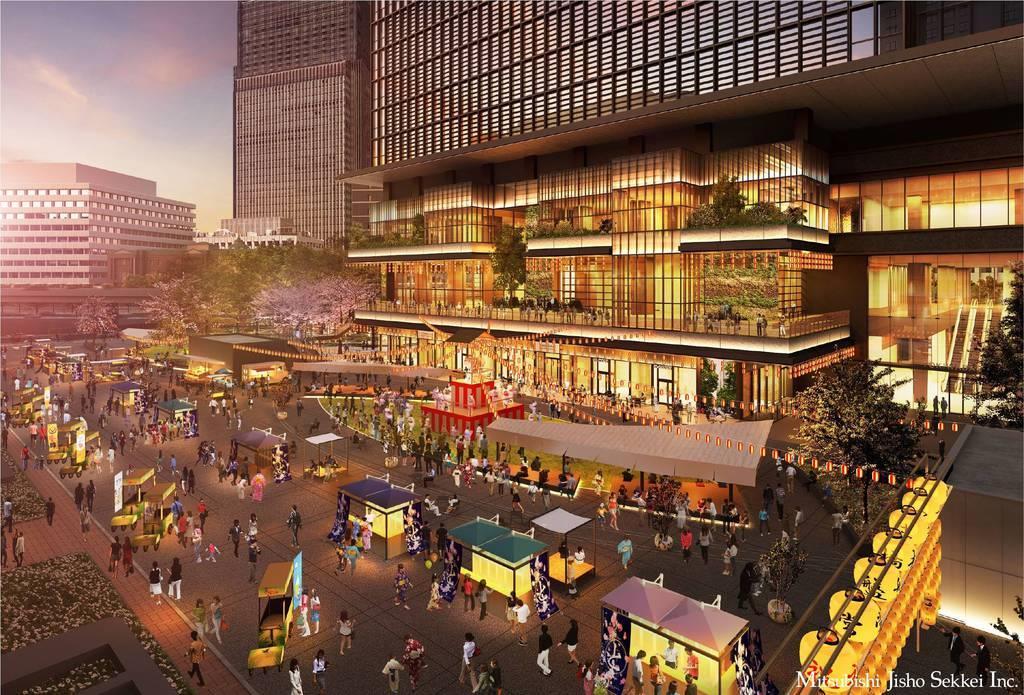 三菱地所 「大丸有」東京駅周辺の再開発 令和12年までに過去…