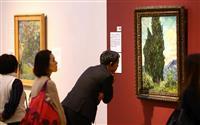 【動画あり】「ゴッホ展」開会式・内覧会行われる 兵庫県立美術館