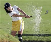 河本68、トップと2打差 米女子ゴルフ第1R