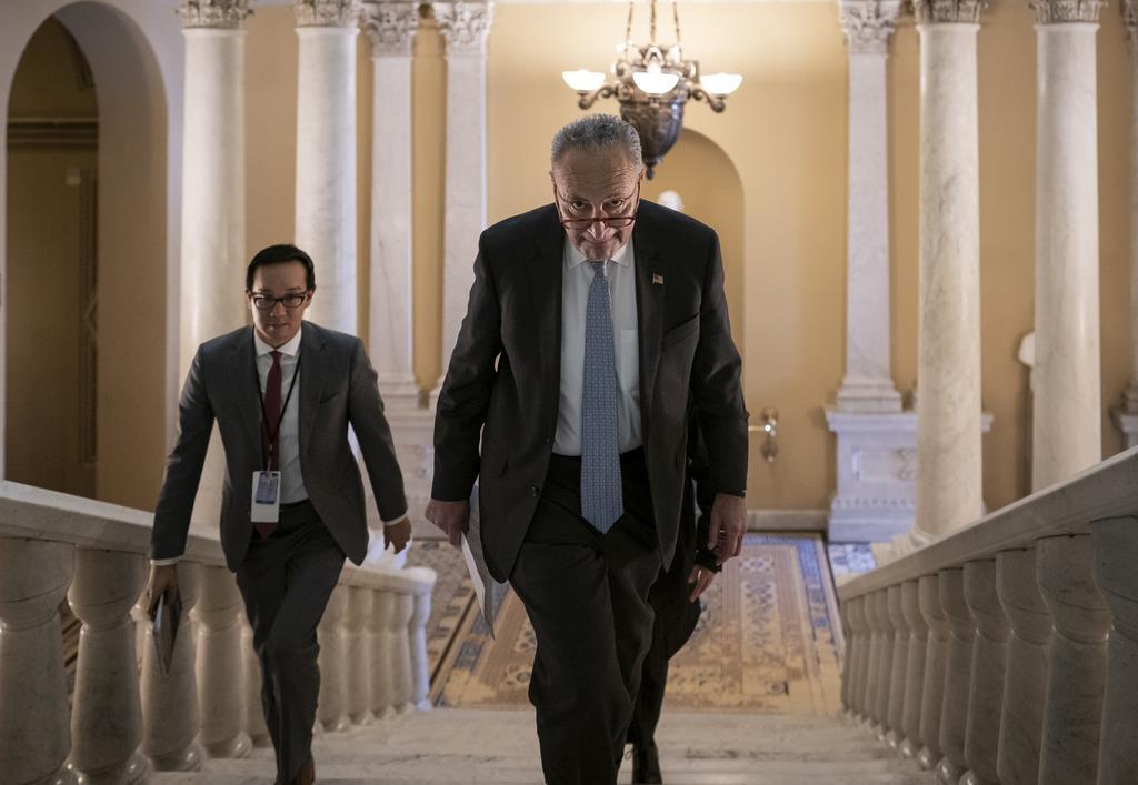 米弾劾、民主が2日目意見陳述 共和党、証人尋問に否定的な意見…