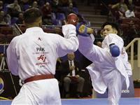 五輪代表の西村が初戦敗退 空手プレミアリーグ開幕戦