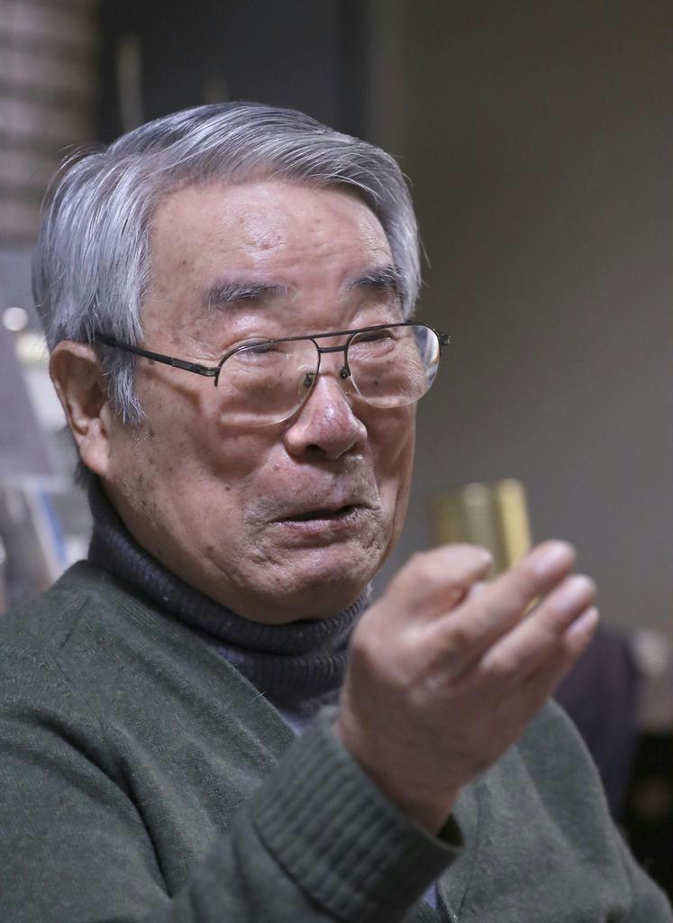 【話の肖像画】元郵政相・八代英太(82)(1)国会に誕生した「3人の後輩」