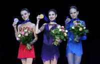 コストルナヤが初出場V フィギュア欧州選手権女子