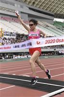 【大阪国際女子マラソン】松田優勝「最高に気持ちよかった」 五輪代表候補に名乗り