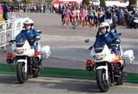 【大阪国際女子マラソン】レース支えた白バイ隊「セーフティウインズ」