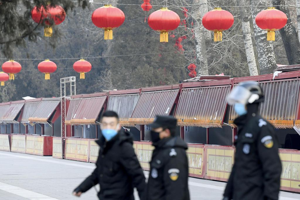 中国の新型肺炎