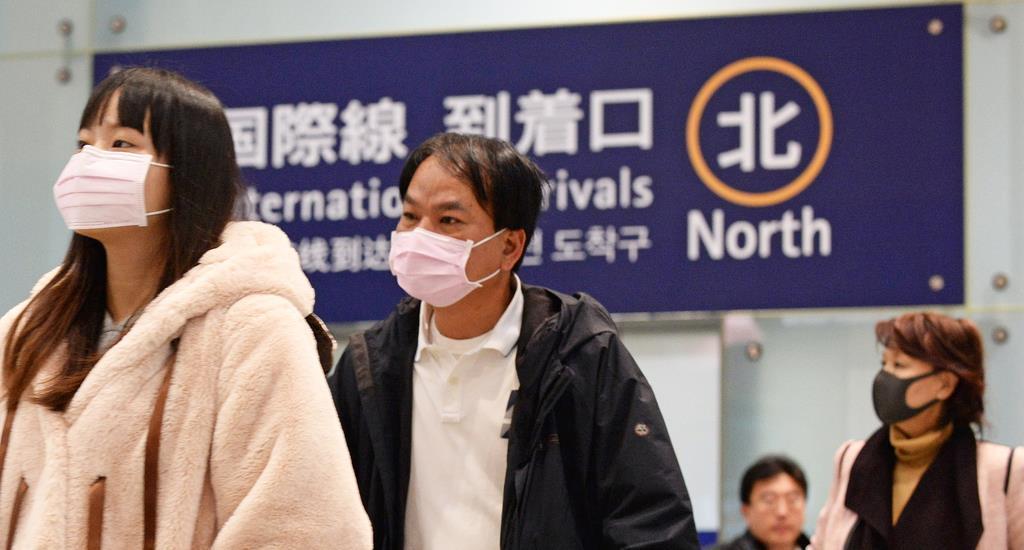【ウェブ】新型コロナウイルス 関空警戒