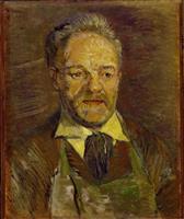 【ゴッホ展/作品連載】(2)「タンギー爺さんの肖像」パリでの出会い