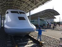 【湖国の鉄道さんぽ】鉄ちゃんなら必ず凝視 米原に並んだ新幹線の試験車両