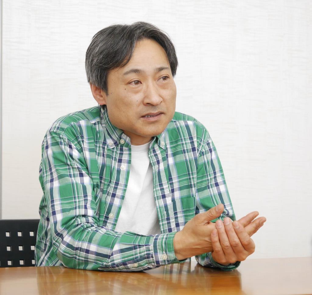 「幼な子の聖戦」で第162回芥川賞候補になった木村友祐さん