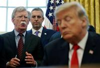 ボルトン氏証人尋問 民主党、攻勢強める 米大統領弾劾裁判