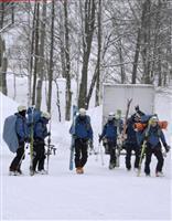 仏人男性を救助へ、道警 トマムの雪崩