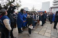 首都圏で中学入試本格化 6・5万人が受験 マスク姿も