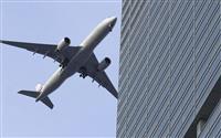 初日は61機が着陸 羽田の都心飛行ルート
