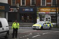 ロンドンでテロの疑い 複数人刺されたか