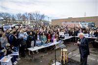 【米大統領選】初戦のアイオワ州で民主、トランプ再選阻止を訴え 3日に党員集会