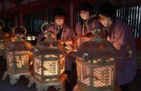 【動画】春日大社で節分万燈籠
