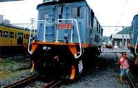 近江鉄道の電気機関車、最後の1両が故郷に旅立ち