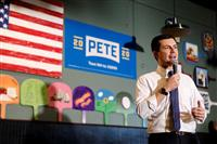 【米大統領選】穏健派ブティジェッジ氏が首位 民主・アイオワ州中間集計