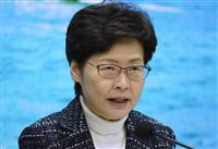 香港、新型肺炎で中国本土からの入境者に強制検疫 医療デモは続行