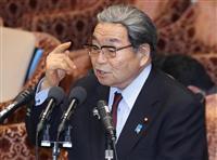 野党、「桜」めぐり北村地方相に照準 衆院予算委
