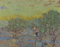 【ゴッホ展】「ゴッホの風景」(4)サン=レミ オリーブ畑