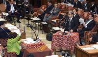 北村氏答弁めぐり野党退席 衆院予算委が散会