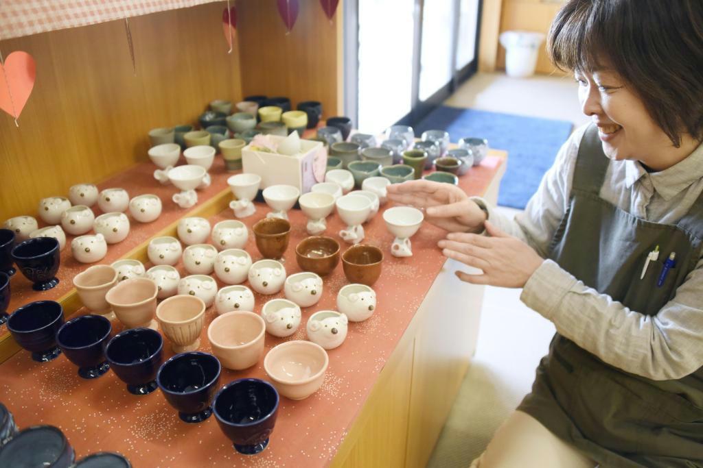 バレンタインは「おちょこ」を 上野焼、大切な人に贈って 福岡