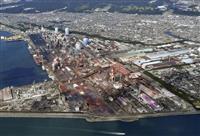 和歌山の高炉1基休止へ 日鉄、呉に続き生産縮小
