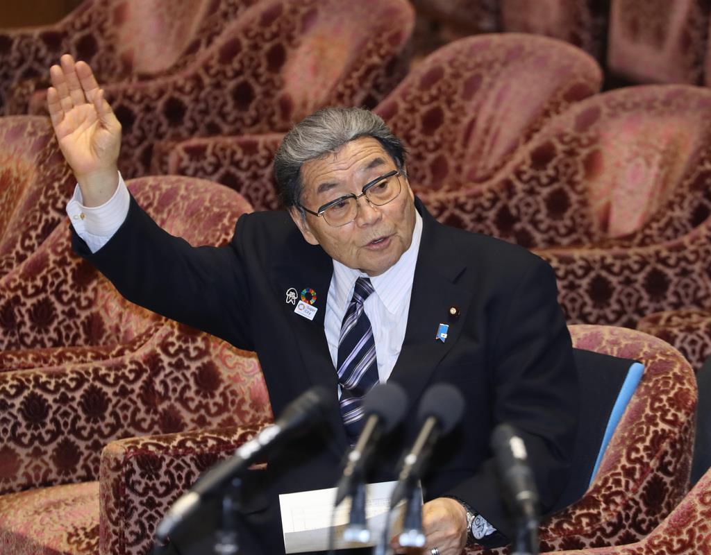 """北村地方創生担当相、秋田出張を取りやめ 国会答弁の""""準備""""で"""