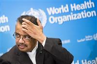 新型肺炎めぐりWHO事務局長の辞任要求が活発化、30万人超が署名