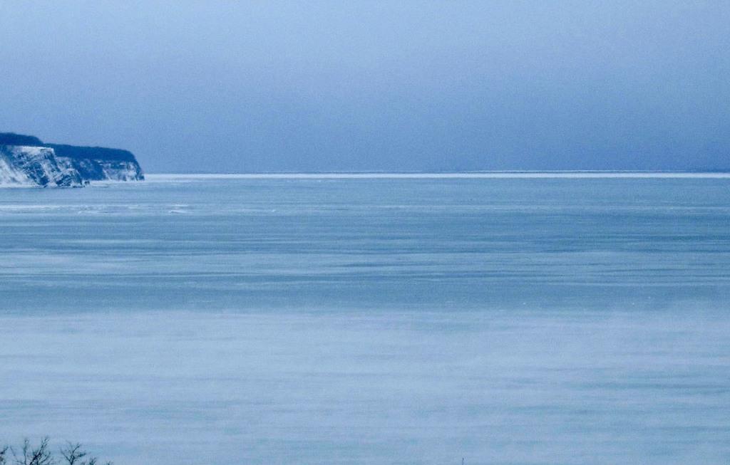 北海道網走で流氷初日